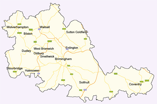 West midlands information british services uk guides for Country plans com